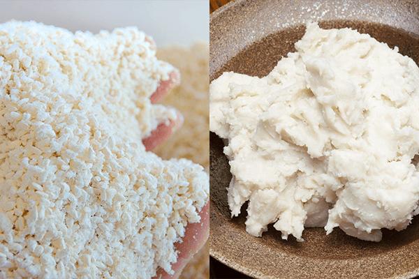 「酒粕で作る甘酒」と「米麹で作る甘酒」