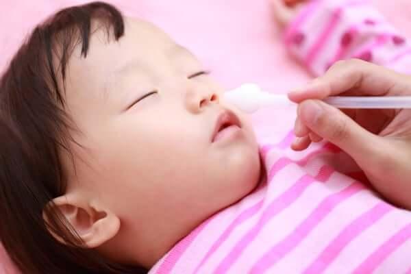 赤ちゃんの花粉症の症状