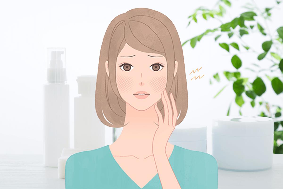 化粧品でかぶれる!敏感肌の原因はアレルギーかも?